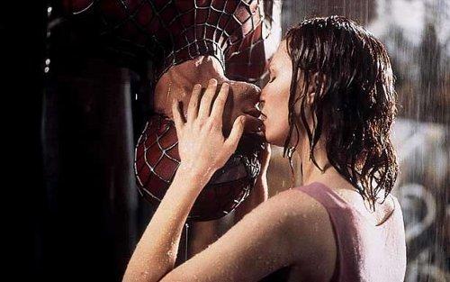 Peter Parker e Mary Jane em Homem Aranha